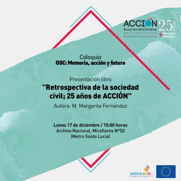 """Coloquio: """"Organizaciones de la Sociedad Civil: Memoria, acción y futuro"""""""