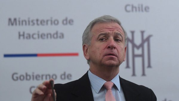El ministro de Hacienda, Felipe Larraín, liderará Coalición de Ministros de Finanzas para la Acción Climática