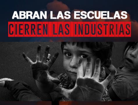 """""""Abran las escuelas, cierren las industrias"""": Fundación Terram publica Balance Ambiental 2018 con énfasis en zonas de sacrificio"""
