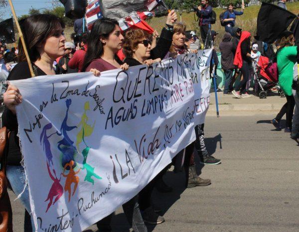 Comunidad de Quintero Puchuncaví se opone a instalación de terminal de empresa Oxiquim en la zona