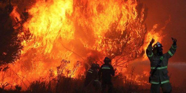 Incendios forestales afectan a la región de Valparaíso: nueve comunas se mantienen con Alerta Roja