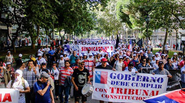 Pescadores industriales de la jibia advierten radicalización de las manifestaciones y exigen al Gobierno llevar ley al TC