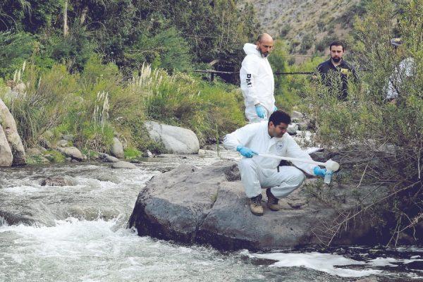 PDI concluye que Valle Nevado contaminó el río Mapocho en enero