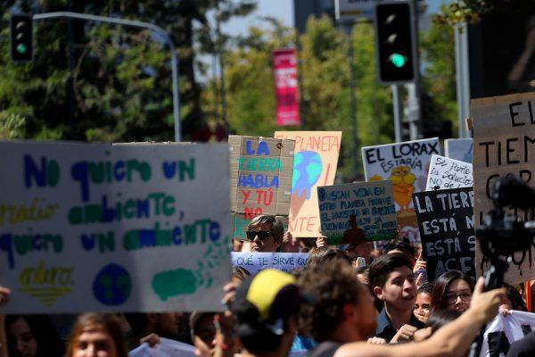 Protesta global de jóvenes contra el cambio climático