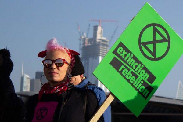 En Europa: comienza la Rebelión Contra la Extinción que alerta sobre el cambio climático